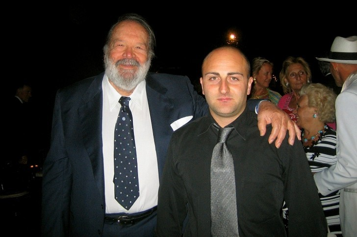 Gianluca Galvani e Bud Spencer