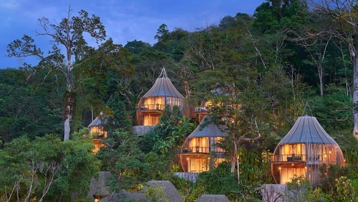 thai-kamala-resort-case-sugli-alberi